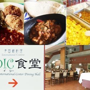 OIC食堂(JICA沖縄/浦添市)ランチバイキングはいつ開催?色々な国のメニューが食べられる格安食堂!