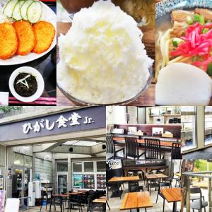 ひがし食堂Jr(那覇市)のおすすめメニューは?新都心公園内にある人気食堂の支店!