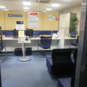 365ストローク     続  CASIOのサービスセンターへ行ってきた
