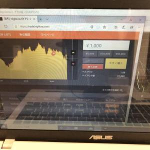 バイナリーオプション投資、3月13日の結果 byハイローオーストラリア