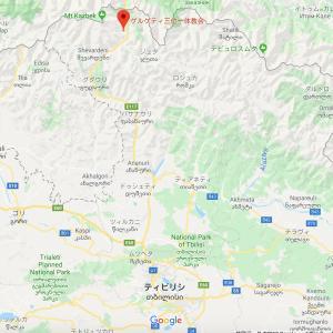 ジョージア共和国おすすめ観光スポット:ゲルゲティ三位一体教会