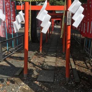 昨日、門田稲荷神社に参拝してきました。