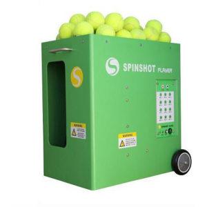 アプリを使って一人でテニスの練習ができるオススメの自動球出し機
