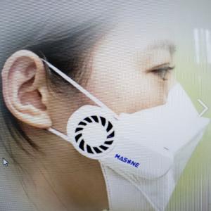 マスク空気排出機!!
