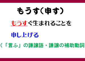 もうす(申す)古文単語ー敬語カルタ