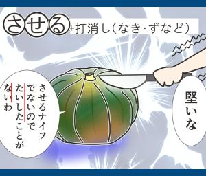 させる+打消(なき・ずなど)(語呂合わせ古文カルタ)