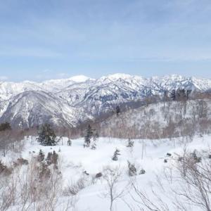 一里野温泉スキー場からしかり場