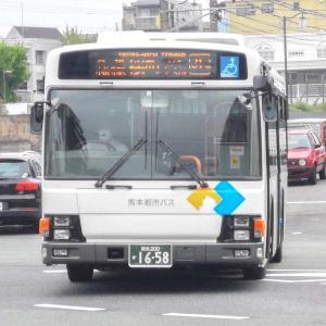 🆕熊本都市バス 熊本200か1658