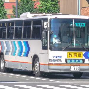 九州産交バス 熊本200は405(教習車)
