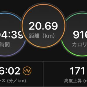 秋の大会予定と、とりあえず30km走れました。