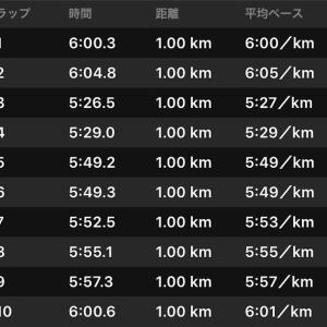 2019/12/06 ハーフマラソンの走り方