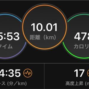 2020/10/25 月例マラソン
