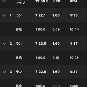 2021/6/21ダニエルズ4週サイクル19/26  Q1