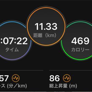2021/9/26 ロング走定例会