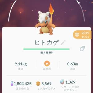 『ポケモンGO』~その日の活動日記「ヒトカゲ コミュニティデイ」~