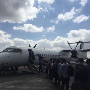 アディスアベバ到着。国内線でメケレへ。