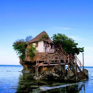 The Rockでマサイを逆ナン!?海の上の絶景レストラン ザンジバル島 タンザニア