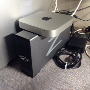eGPUのないMac Miniなんて ・ ・ ・