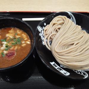テラスモール松戸に新開店 松戸富田麺桜でテラスモール松戸限定 甘エビ濃厚つけ麺を初賞味 エビ味の濃厚さに驚く