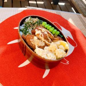 鶏ももの照り焼き弁当と糖質制限弁当