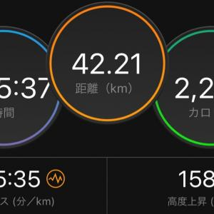 ぼっちフルマラソン開催❗️