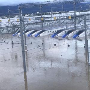 北陸新幹線 車両浸水! 専門家「最悪 廃車か」