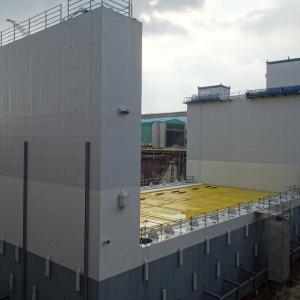 【津波対策】海底に全長41㍍、高さ19㍍、重さ1338トンの海底設置型水門の工事 本格化