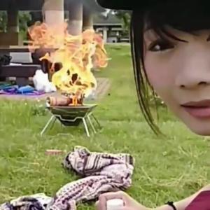 【動画あり】ニコニコ生放送の女性配信者、キャンプ配信中にガスボンベを爆発させる