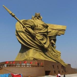【中国】めちゃカッコいい29億円関羽の巨大像を26億円で解体後移転