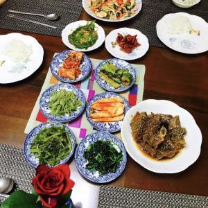 韓国 家庭料理 紹介