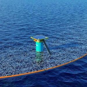 太平洋ゴミベルト、巨大浮遊洗浄機械で海洋のプラスチック汚染洗浄