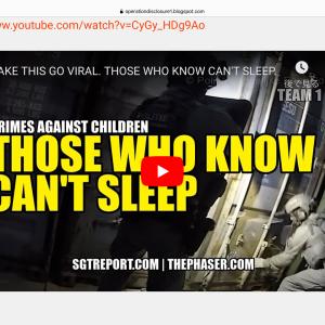 SGTReport-これを拡散してください。知っている人は眠れない。