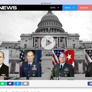 124人の米国の将軍、提督は選挙クーデターのバイデンを非難し、共産主義との戦争を呼びかける