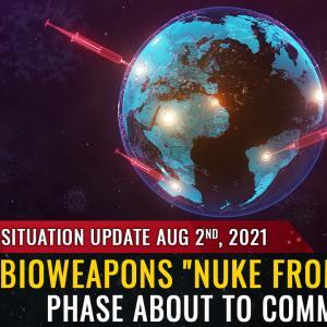 グローバリストは、スパイクタンパク質ワクチン注射で人類を滅ぼす計画.「軌道から核兵器」を解き放つ.プライベートアイランド、地下バンカーに逃げる