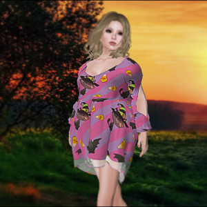 1L$ Halloween Dress *Marketplace