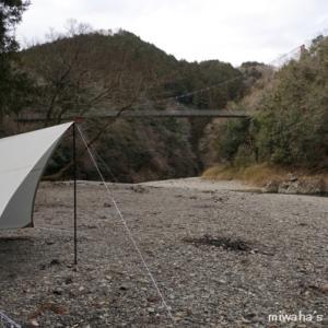 多良峡森林公園でソロキャンプ。・*☆