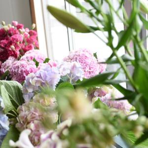 レッスンのお花たち