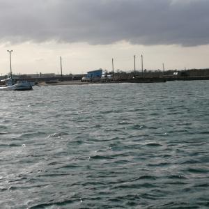2時間空いたので、今朝のリベンジで四方漁港まで