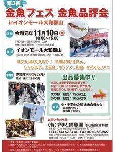 金魚フェス 金魚品評会!!