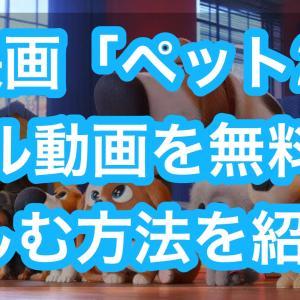 映画「ペット2」フル動画を無料視聴する方法!
