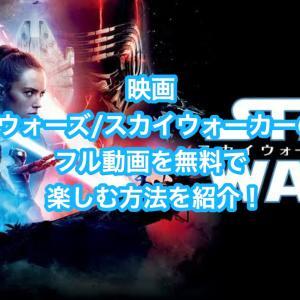 映画「スター・ウォーズ/スカイウォーカーの夜明け」フル動画を無料視聴する方法を紹介!