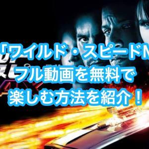 映画「ワイルド・スピード MAX」フル動画を無料視聴する方法を紹介!