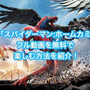 映画「スパイダーマン:ホームカミング」フル動画を無料視聴する方法を紹介!