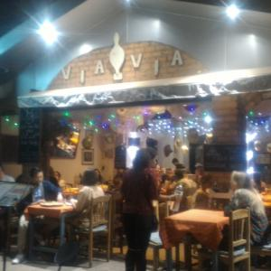 """レストラン紹介 """"Via Via Restaurant""""(イタリアンレストラン) at Vientiane"""