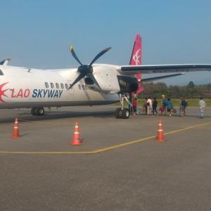 ラオス北部旅行記(12) ルアンナムターの朝市 & ルアンナムター空港の様子