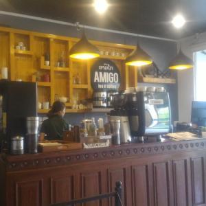 ビエンチャン市内のオシャレカフェ「アミーゴティーアンドコーヒー」