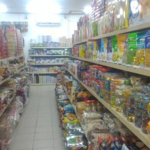 ビエンチャン市内のスーパーマーケット「Bounthavy Minimart(ブンタビーミニマート)」@ビエンチャン