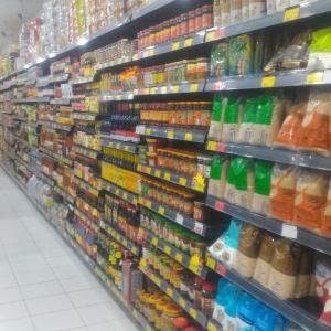 ビエンチャン市内のスーパーマーケット「Giraffe Supermarket(ジラフスーパーマーケット)」@ビエンチャン