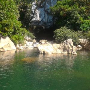 ラオス中部旅行記①(コンロー洞窟、カムアン県)(2020年2月)
