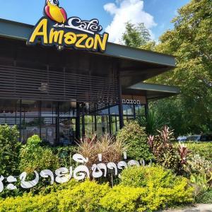 ラオスでも人気のタイ系カフェ - AmazonCafe(ビエンチャン、ラオス)